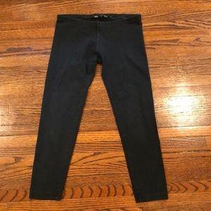 Hard tail black crop leggings